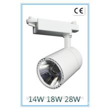 LED-Aquarium Beleuchtung Ra> 80 3 Jahre Garantie weißes Ende 14W 18W 28W Cob LED Track-Licht