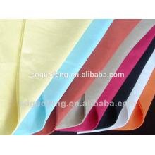 Chine Usine T / C 80/20 90/10 tissu, poly coton teint en plaine popeline
