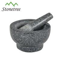 Granite Mortar and pestle spice grinder