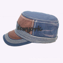 3D Embroidery Metal Buckle Army Cap (GK05-S1003)