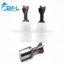 Fraise en spirale à commande numérique BFL Fraise à queue d'aronde en carbure de tungstène
