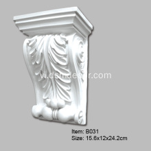 Polyurethane bọt Chesterfield Corbels