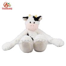 Lovely white monkey plush hanging toy with long arm