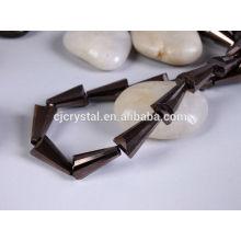 AAA quality crystal glass tower beads