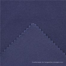 21x21 + 70D / 140x74 264gsm 144cm tiefes Meer blau doppelte Baumwolle Stretch Köper 2 / 2S Spandex gewebte Stoff Spandex legging Stoff