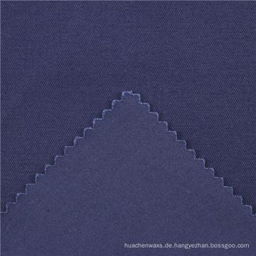 21x21 + 70D / 140x74 264gsm 144cm tiefes Meer blau doppelte Baumwolle Stretch Köper 2 / 2S Spandex 95% Baumwolle 5% einzigartigen Stoff Druck
