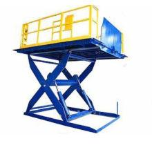 Plataforma elevadora de tijera estacionaria a medida carga pesada elevadora de tijera fija