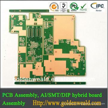 Bonne carte PCB personnalisée, fabricant de circuits de carte de circuit imprimé, pcb fabricant pcb fournisseur possédant pcb usine aluminium pcb pour led