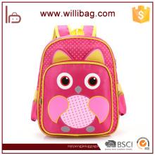 Chine Fournisseur gros Owl Cartoon Kid sacs pour sac d'école enfant