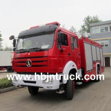Nueva marca de agua tanque de espuma camión de bomberos precio