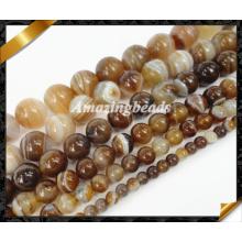 Полудрагоценные каменные бусы Мода Оптовая ювелирных бисера (AG023)