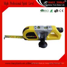 Multifuncional fita métrica 3m e laser de medição de nível de espírito