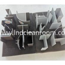 Perfiles de aluminio de alta calidad para salas blancas