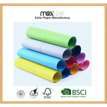 Placa de papel colorido (225GSM - 10 cores misturadas)