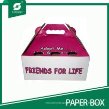 Benutzerdefinierte Haustier Katze Carrier Paket Box