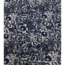 55% lino 45% viscosa tejido estampado para ropa y Textiles para el hogar
