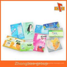 PVC / PET Shrink Sensível ao Calor Etiqueta Decalque Adesivo Plástico Feito na China