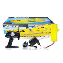1/16 Bote de carreras de plástico eléctrico con motores gemelos enfriados por agua 550