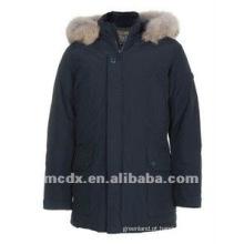 estilo oficial acolchoado quente parka & jaquetas para o homem