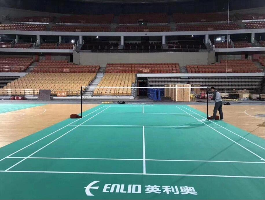 badminton PVC sports flooring 2
