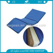 AG-M012 colchones médicos baratos plegables para camas de hospital