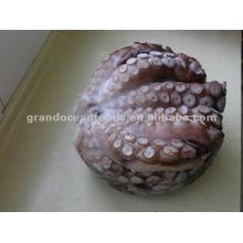 Frozen boiled flower octopus