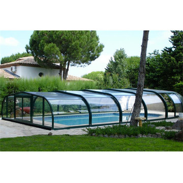 Udendørs stof Winter Swimming Pool Cover Aluminium