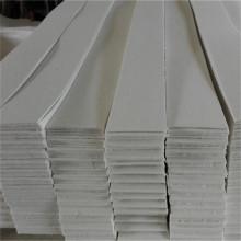 Feltro de lã industrial resistente ao desgaste com cor branca natural