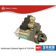 Original Yuchai starter motor BJ100-3708100 for YC6108