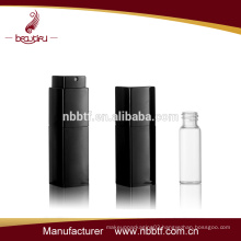 New square aluminum perfume spray bottle