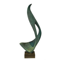 Abstract Figure Brass Statue Carving Deco Bronze Sculpture Tpy-872