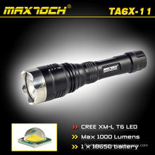 Maxtoch TA6X-11 Focused Beam Cree T6 Police Flash light Hunting