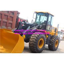 Maquinaria de construção do carregador de roda LW500F de 5 toneladas