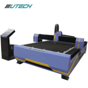 Máquina de corte de plasma de aço fazendo CNC de aço
