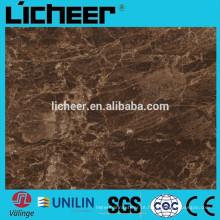 Pvc telha de vinil de luxo fabricante pavimentação / indoor impermeável PVC REVESTIMENTO VINILA AZULEJO