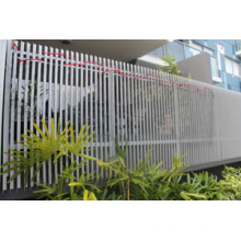 Металлические заборные панели для сада