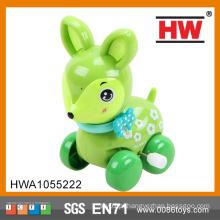 2015 crianças de boa qualidade enrolam pequenos cervos de brinquedo de plástico