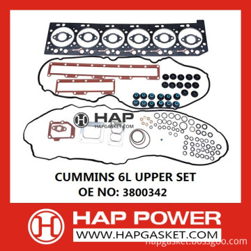 CUMMINS 6L UPPER SET 3800342