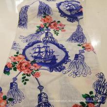 Mode Textil Druck Kleidungsstück Stoff