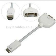 Super Mini DVI vers VGA Câble Moniteur Adaptateur Câble vidéo f