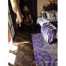 Extravagant Silk Surface Natural Indonesia Rosewood Wood Parquet Flooring