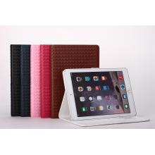 Weave Style PU Leather Stand for iPad Mini 234 Case