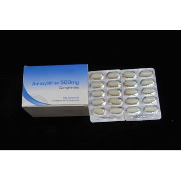 Amoxicilina tableta BP 500MG