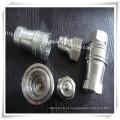Válvula de Aço Inoxidável Conector Pneumático