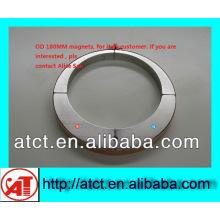 Motor OD180mm Permanent Neodym Magneten