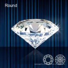 Diamante sintético Brilliant Cut Gemstone Beads (STG-107)