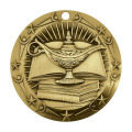 Gold Knowledge Academic Die Besetzung Medaille