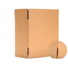 Cheap Recycle Flat Kraft Paper Packaging Carton Box For Packaging