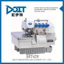 práctica máquina de coser Overlock súper alta velocidad DT747F