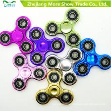 Mano Spinner chapado en color Fidget Spinner Adhd EDC anti estrés juguetes